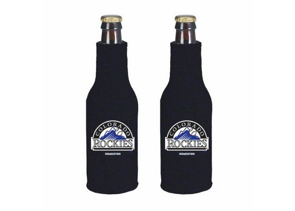 Colorado Rockies MLB Bottle Suit Koozie Cooler