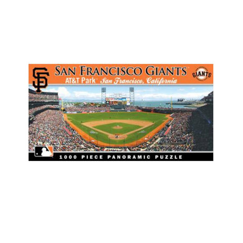 1000 Piece Ballpark Puzzle - San Francisco Giants