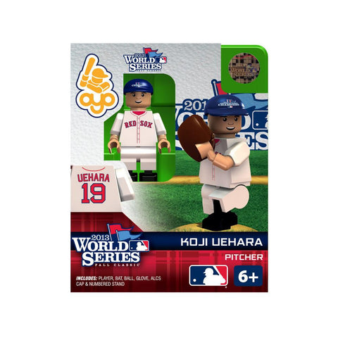 Boston Red Sox Koji Uehara 2013 World Series OYO Minifigure    Special Edition