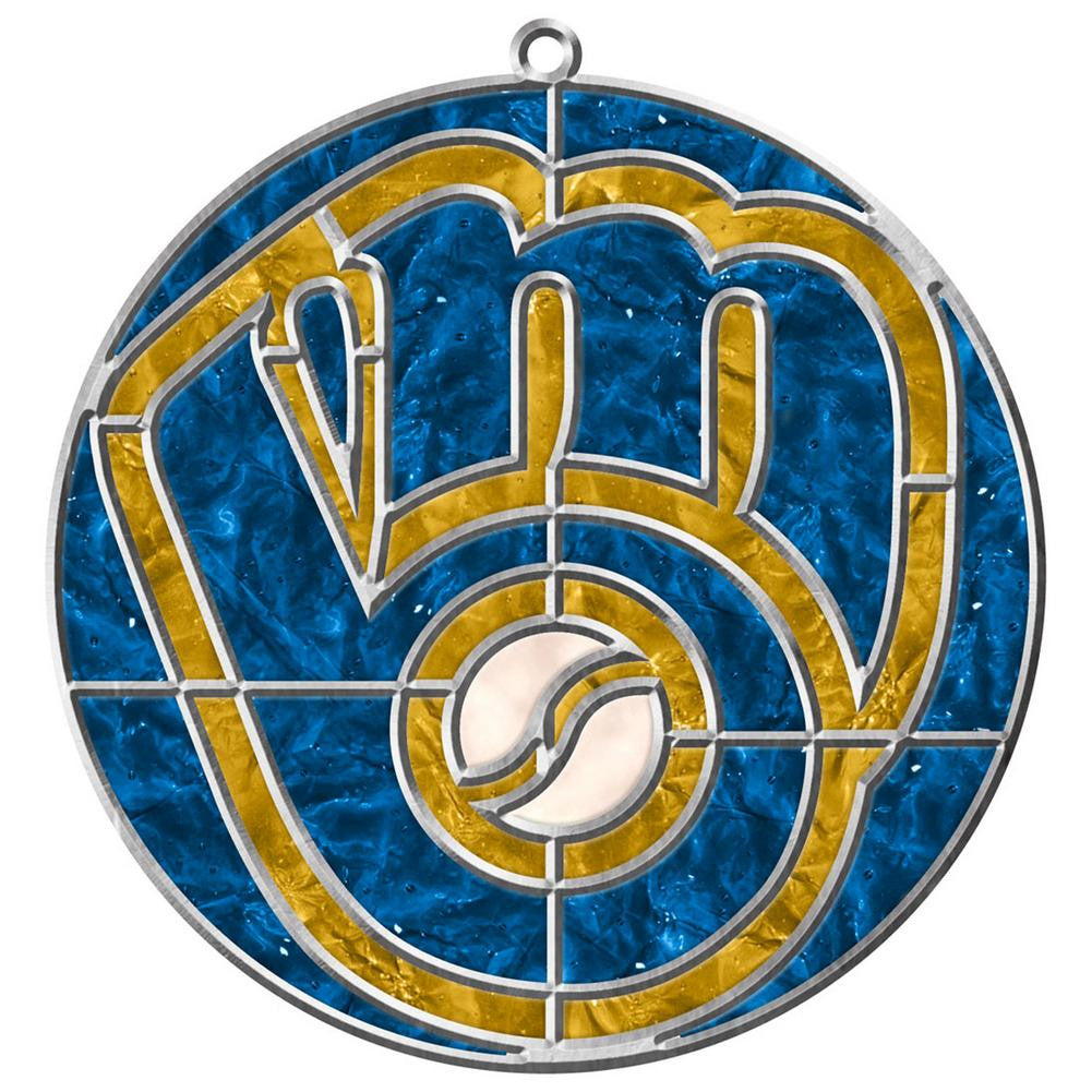 Milwaukee Brewers Makit & Bakit Sun Catcher Craft Kit