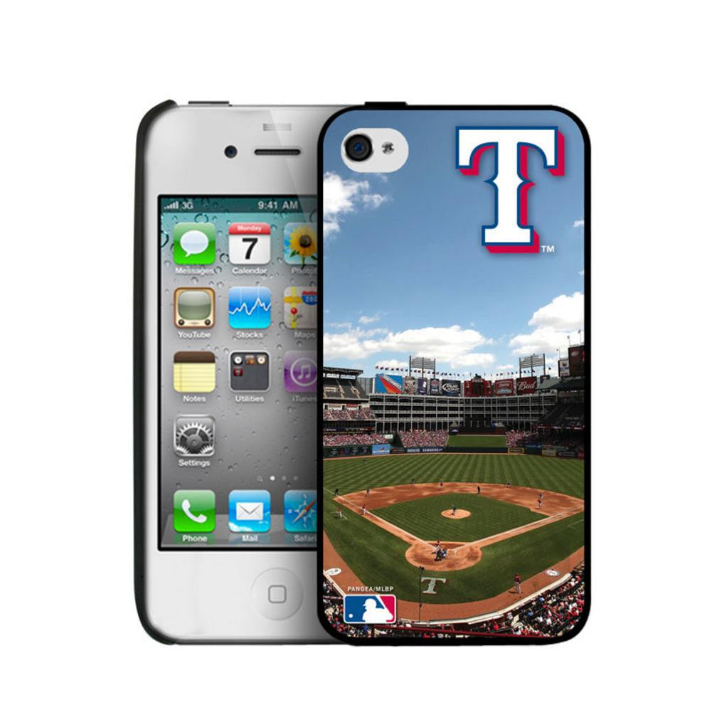 Iphone 44S Hard Cover Case - Texas Rangers