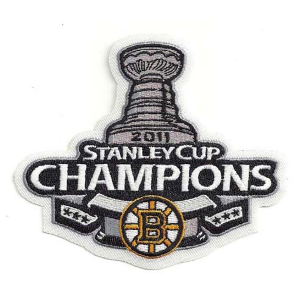 NHL Logo Patch - 2011Stanley Cup Champions - Boston Bruins