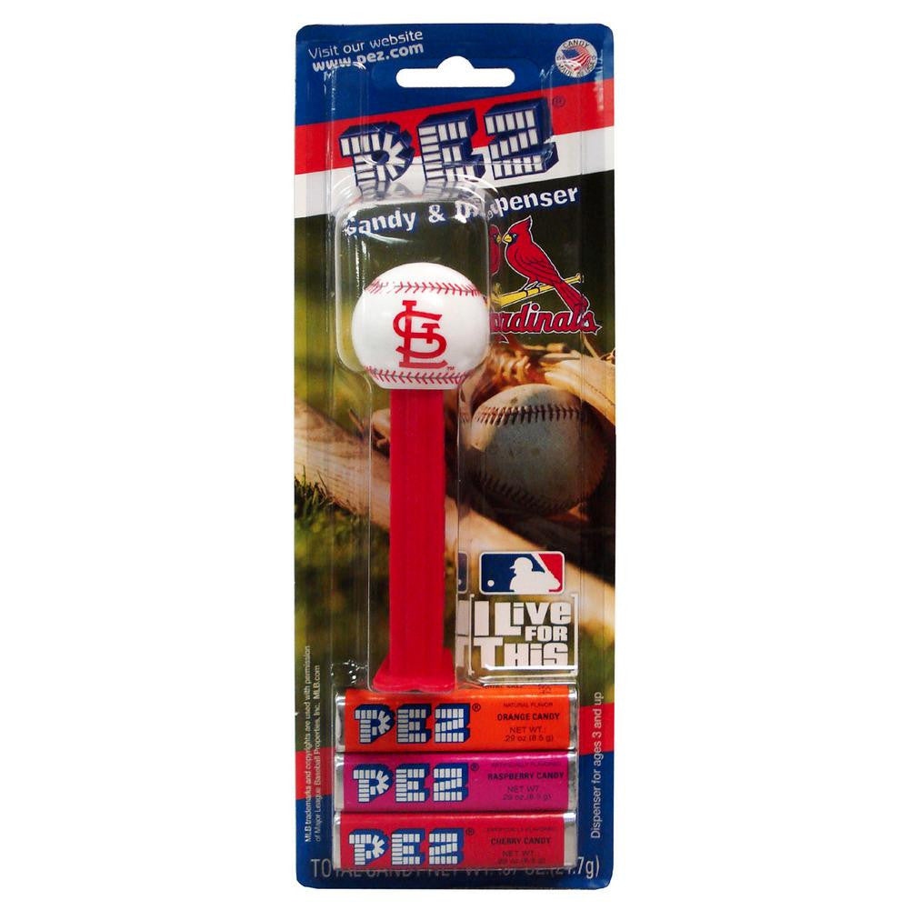 12-Packs of MLB Pez Candy Dispenser - Cardinals