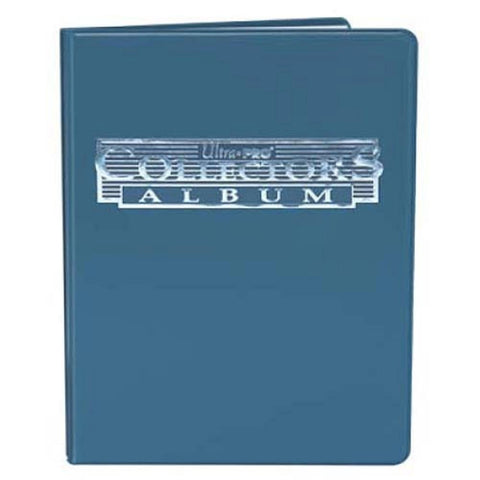 4 Pocket Collectors Portfolio (Blue)