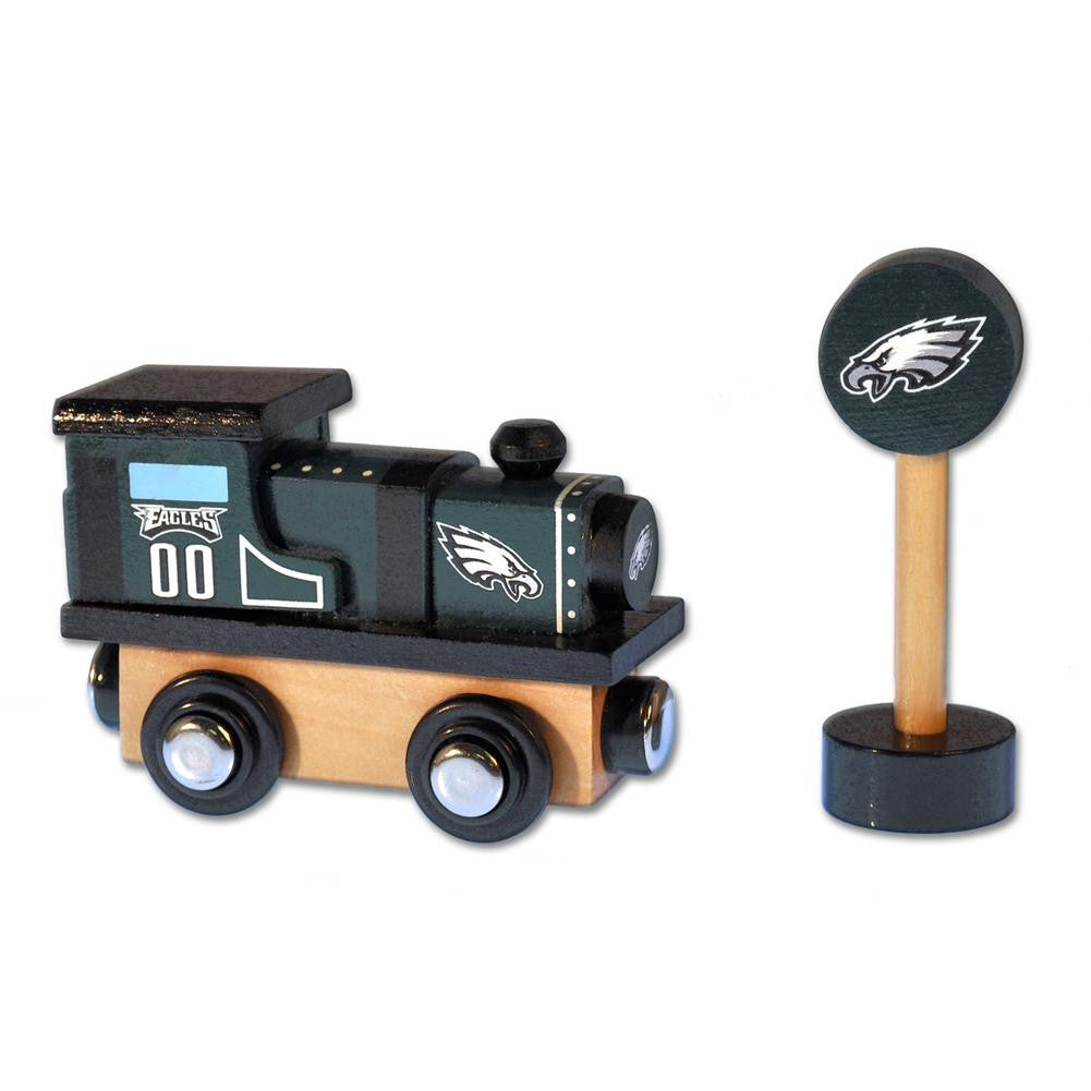 NFL Wood Train - Train Engine - Philadelphia Eagles