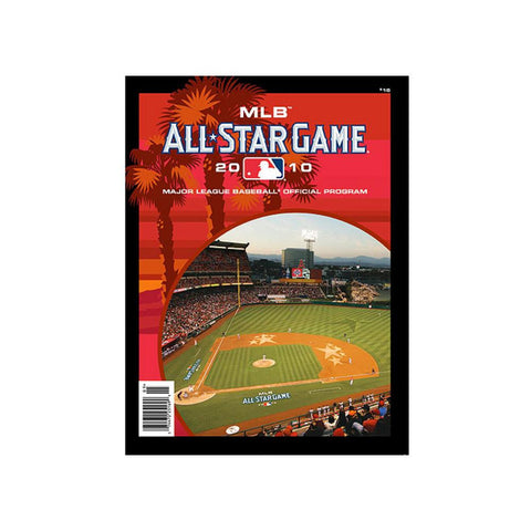 2010 Official MLB All Star Game Program