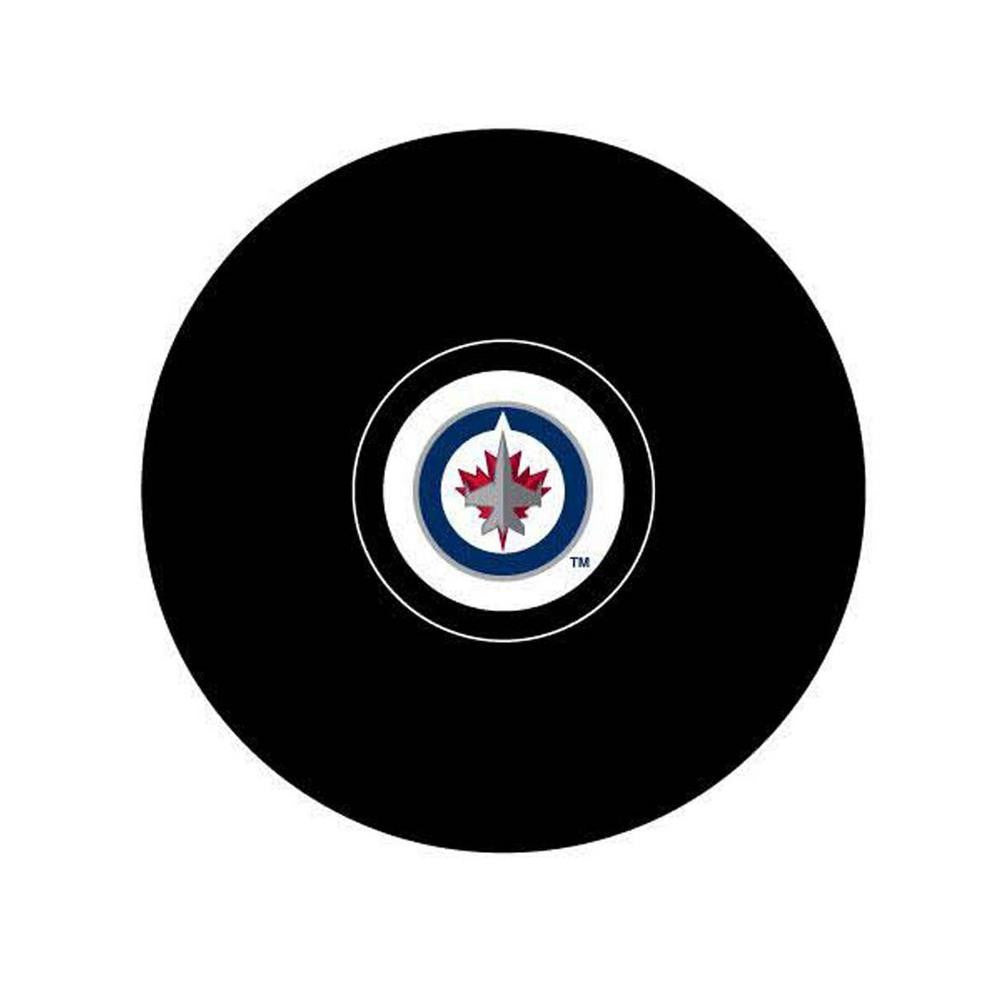 Sherwood Winnipeg Jets Replica Primary Logo Puck Official