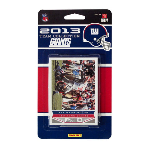 2013 Score NFL Team Set Giants