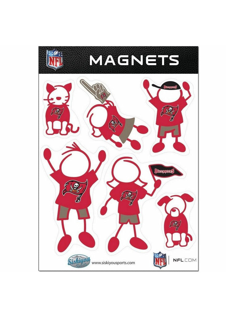 Family Magnets - Tampa Bay Buccaneers