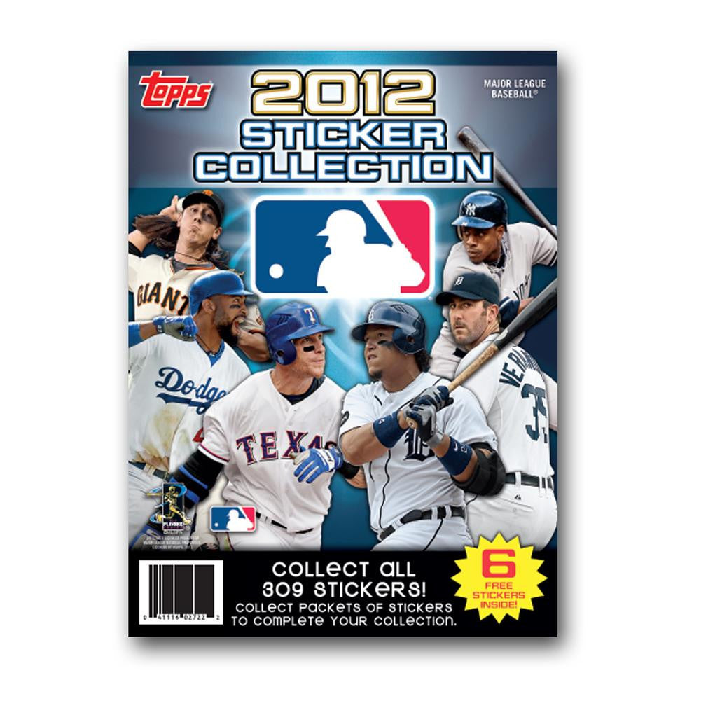 2012 Topps MLB Sticker Individual Album
