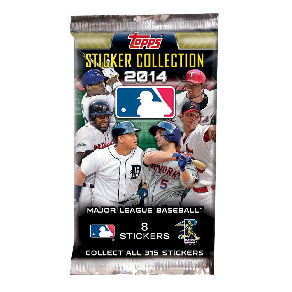 2014 Topps MLB Sticker Pack