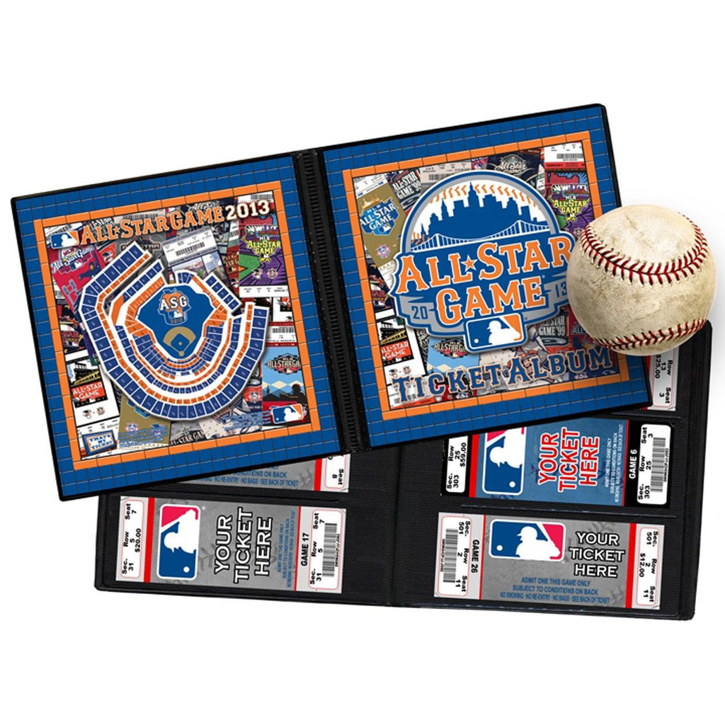 2013 MLB All-Star Game Ticket Album - Mets