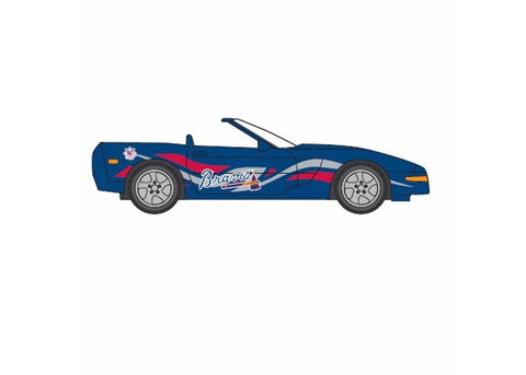 1:64 Corvette - Atlanta Braves