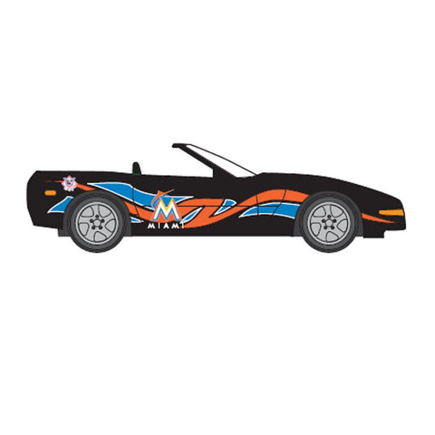 1:64 Corvette - Miami Marlins