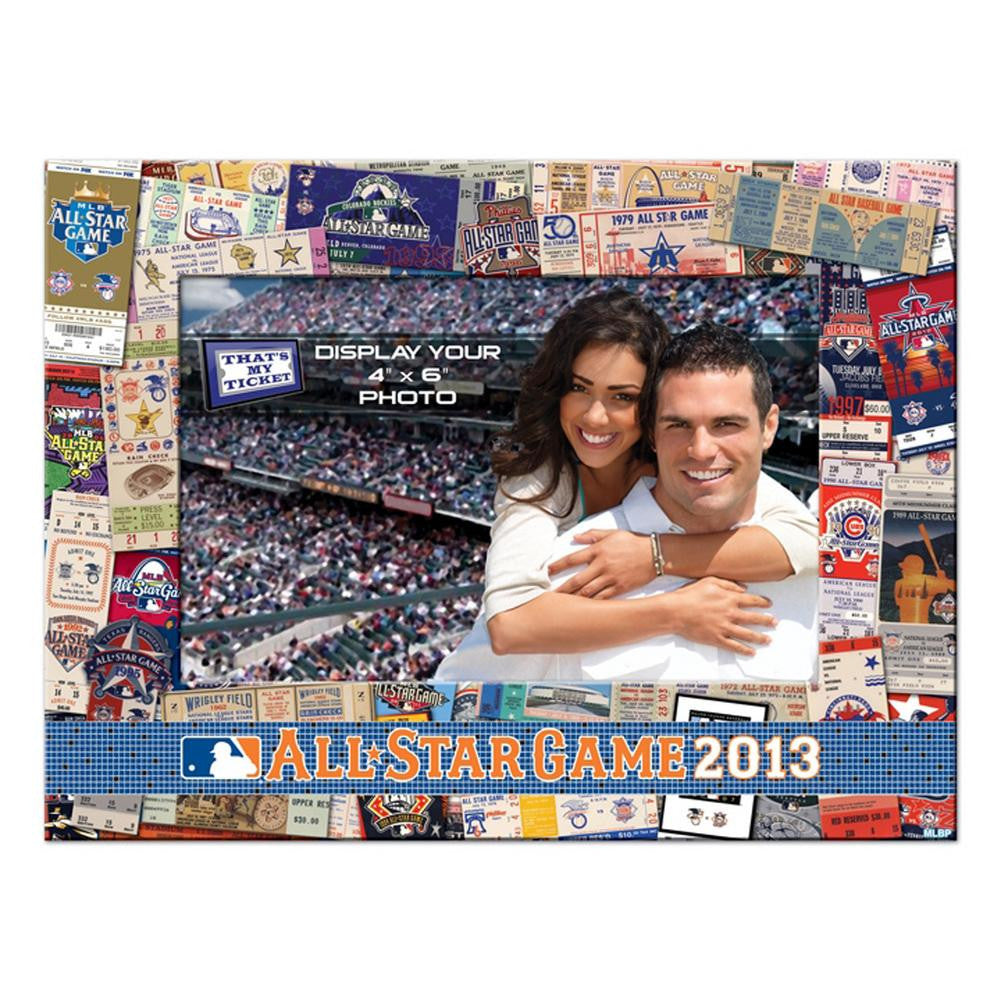 2013 MLB All-Star Game 4x6 Picture Frame