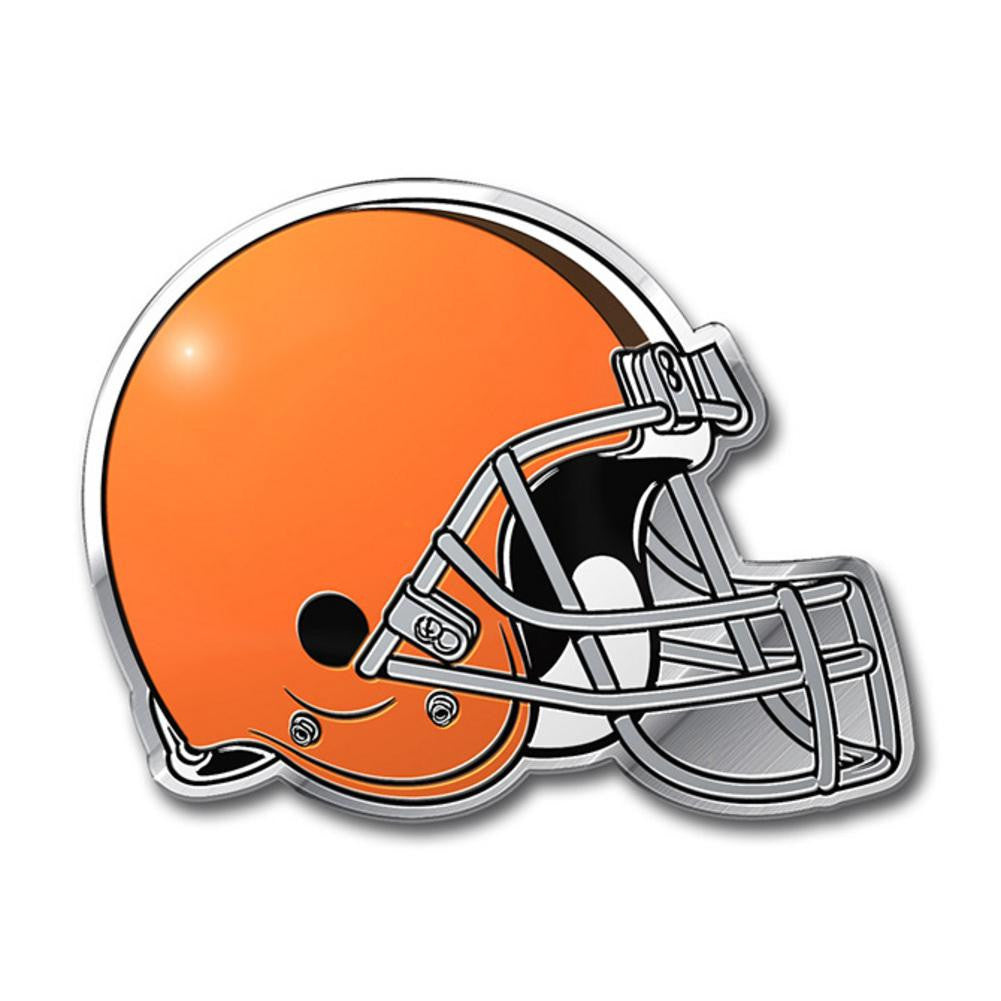 NFL Cleveland Browns Color Auto Emblem