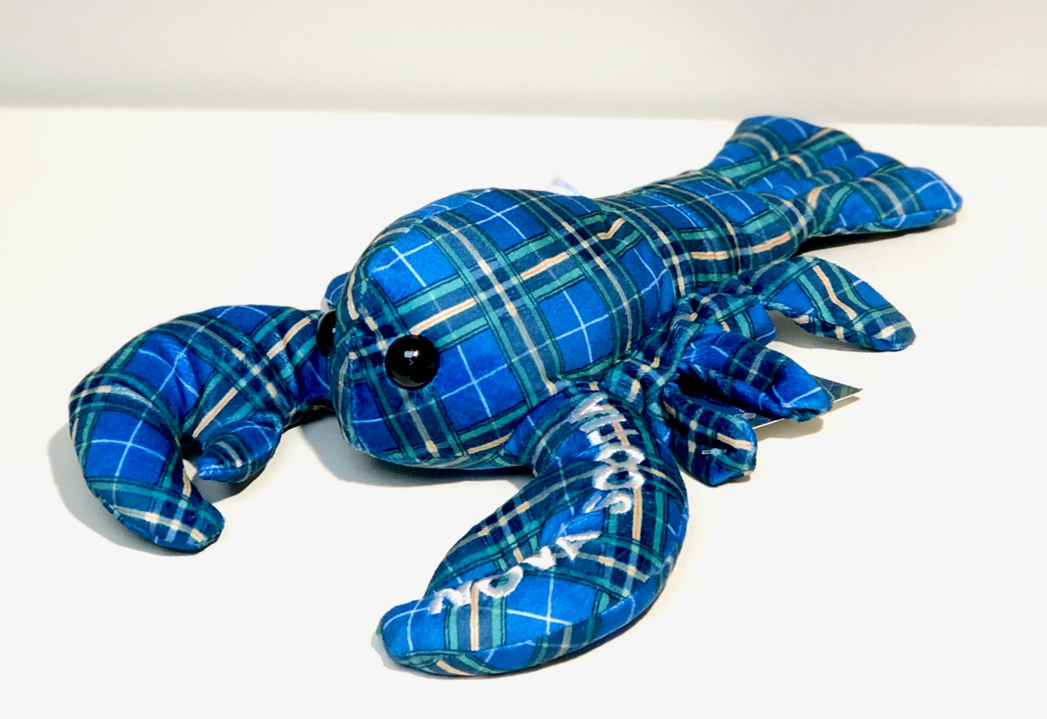 Plush Lobster NS Tartan 12""