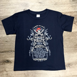 T-Shirt Youth Rascals Pirate Crew