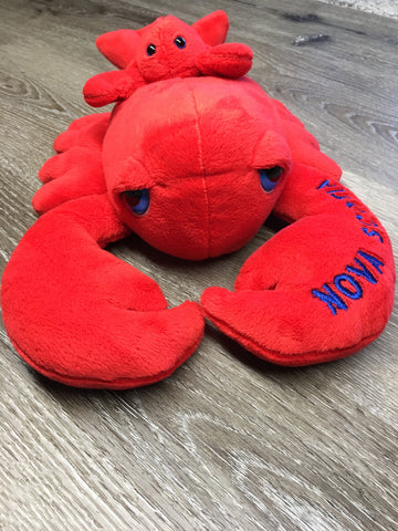 "Plush Lobster 15"" with Pal-Nova Scotia"