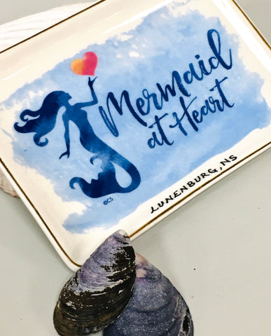 Trinket Tray Mermaid at Heart