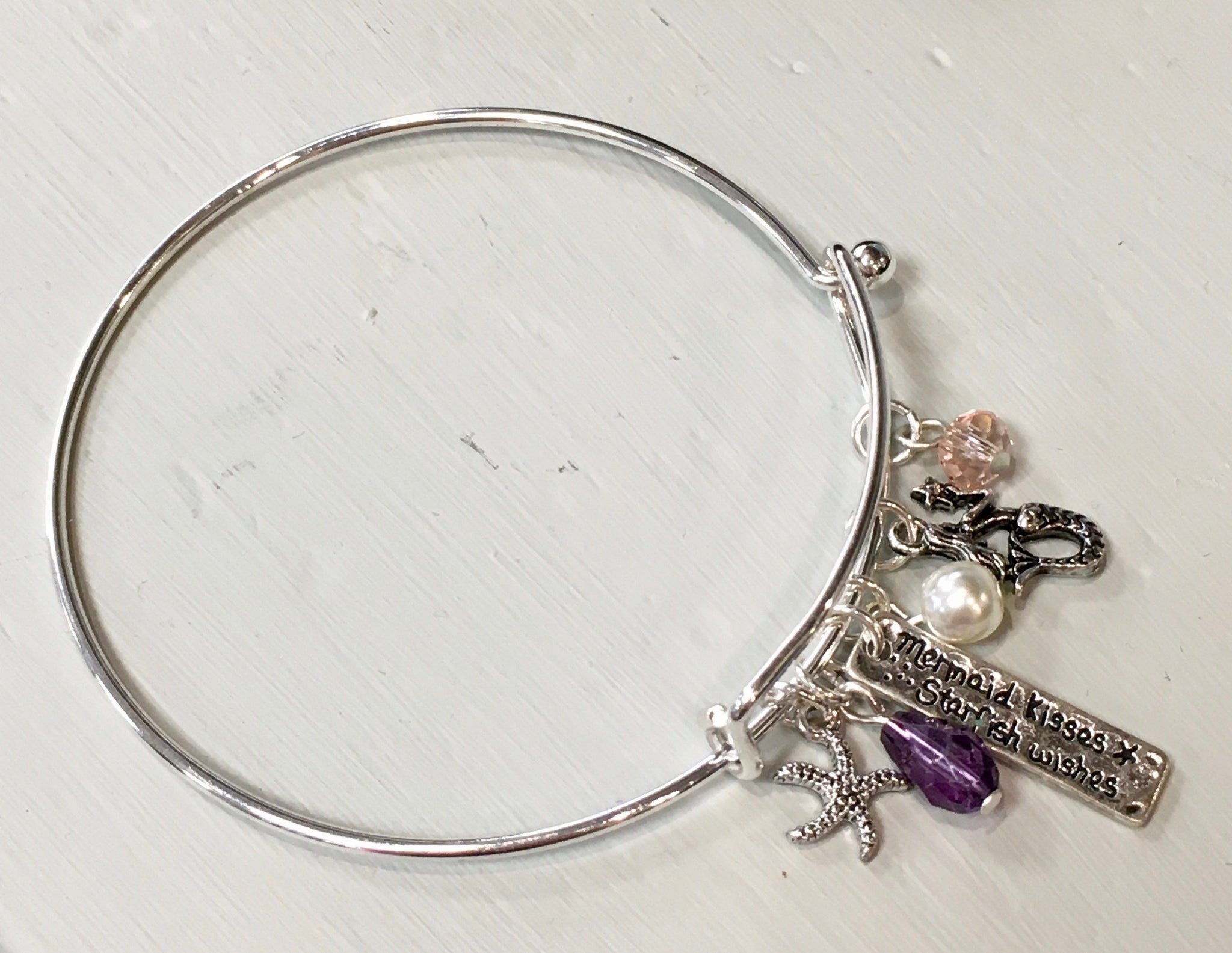 Bracelet Mermaid Charm