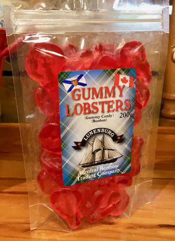 Gummies Lobster Zip Bagged