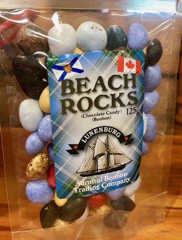 Chocolate Pebble Rocks Zip Bagged