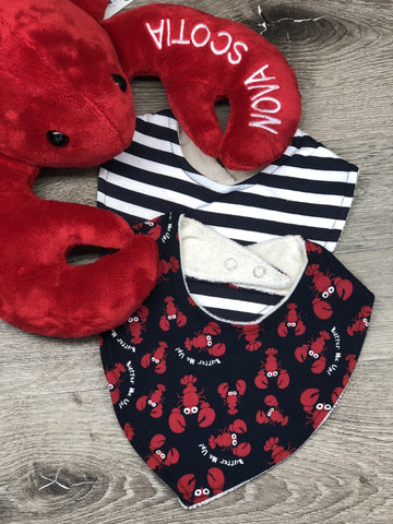 Bib Infant Bandana Lobster