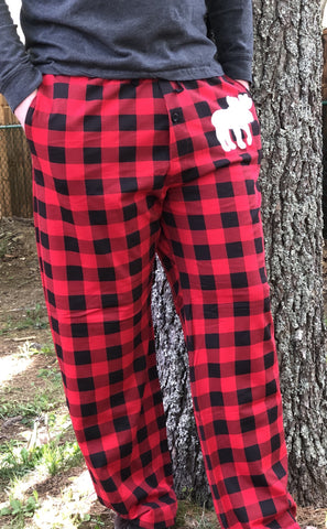 PJ Pant Red Plaid