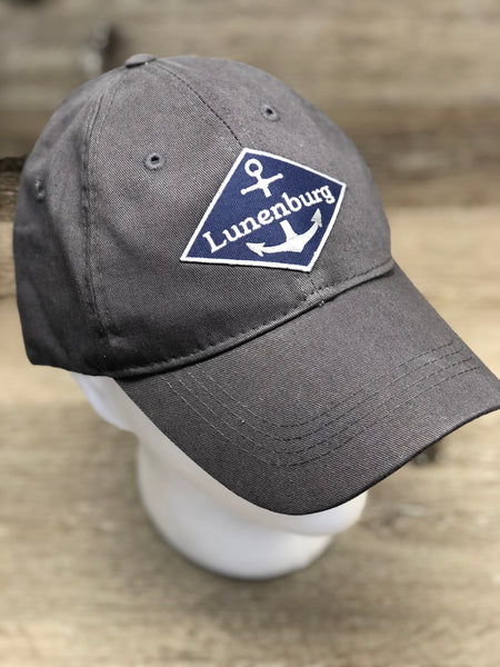 Hat Patch Diamond Anchor Garment Dyed