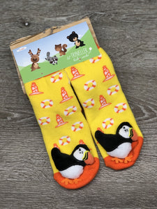 Baby Socks Lil Traveller Puffin