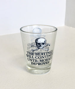 Shot Glass Pirate Morale