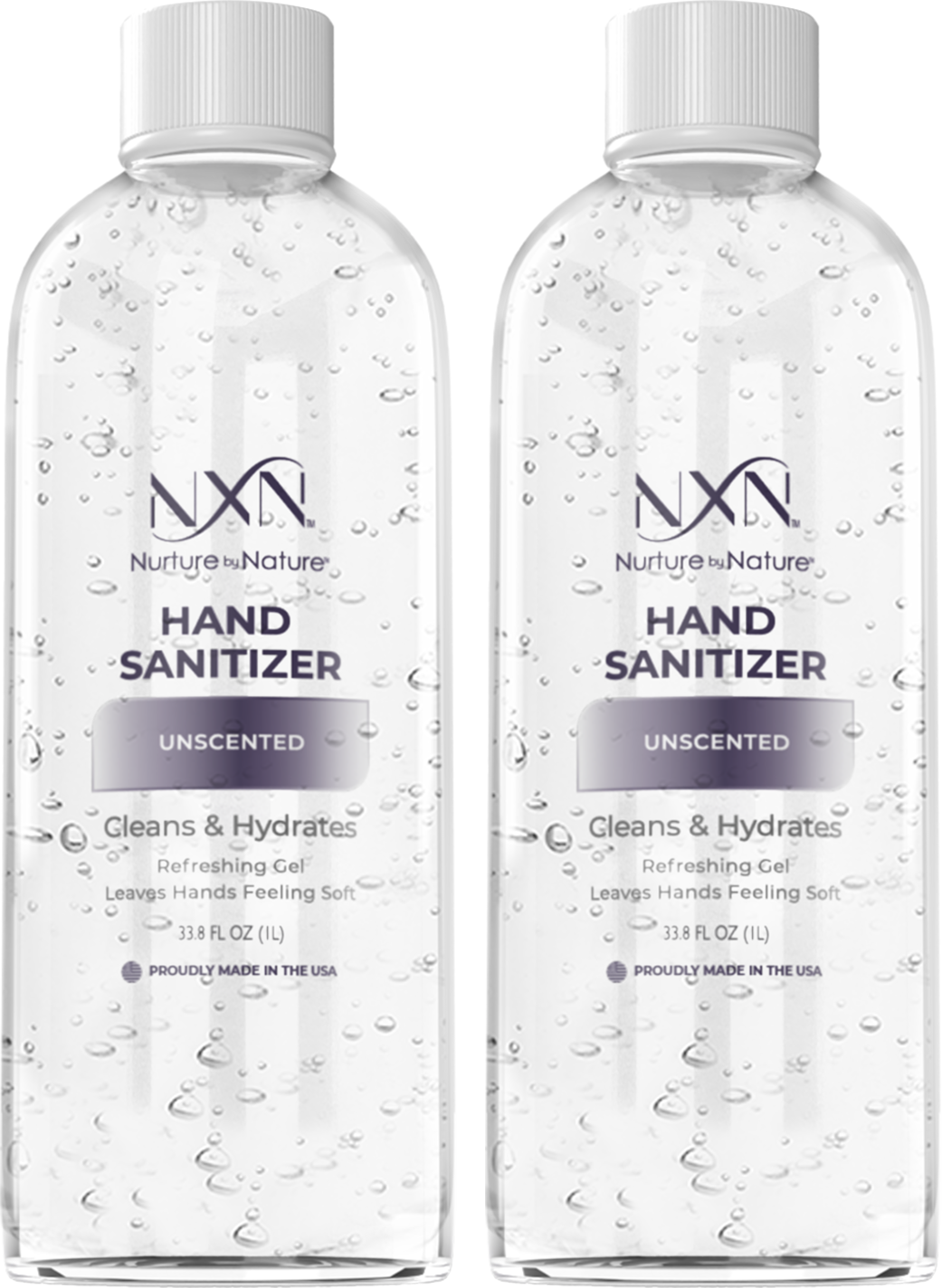 NxN Advanced Hand Sanitizer Re-fill. Unscented, 2 Pack