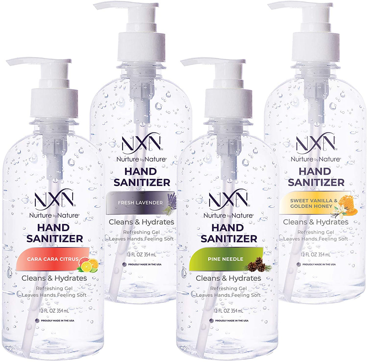 Advanced Hand Sanitizer Variety Pack