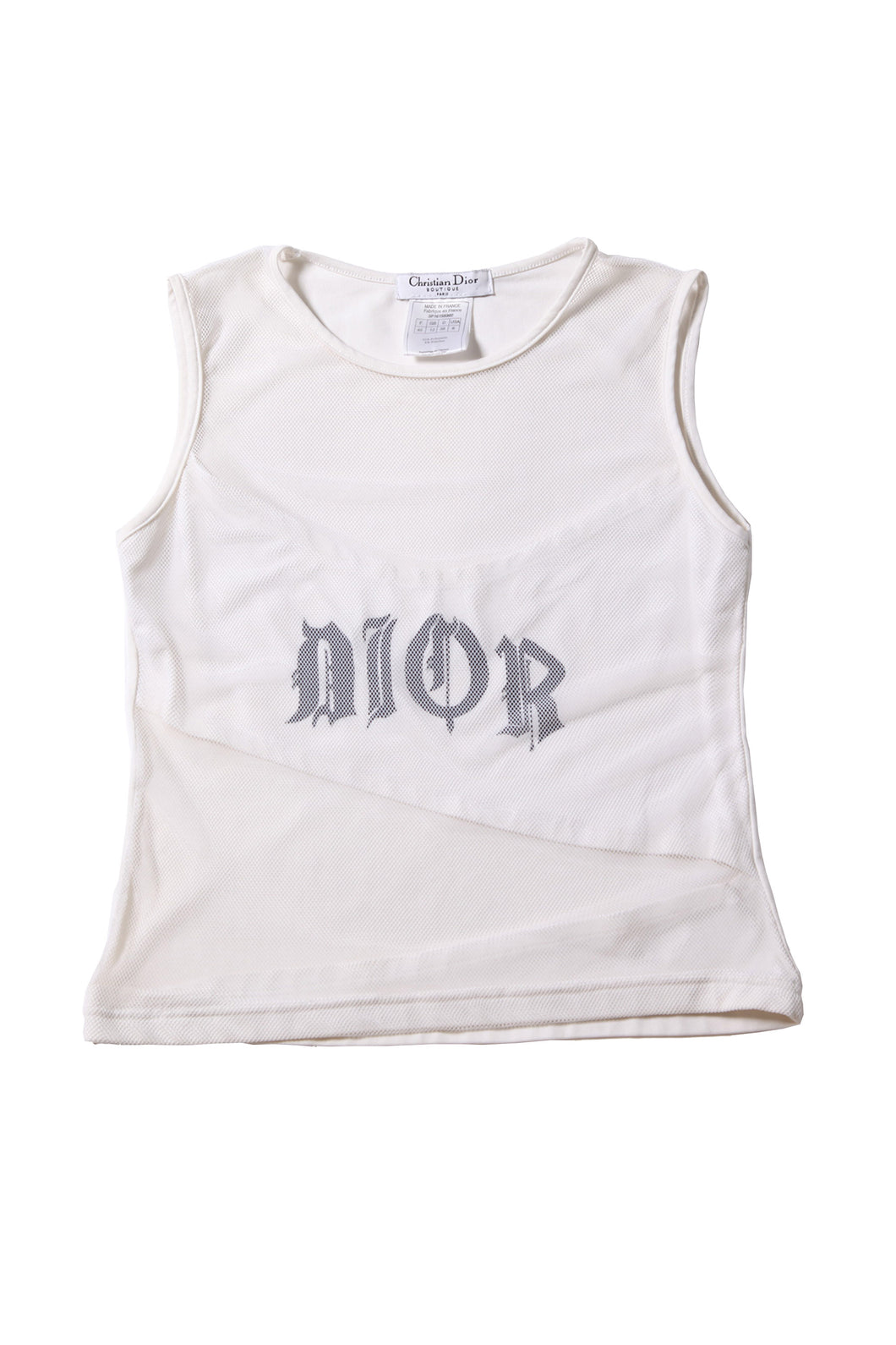 DIOR gothic tank top