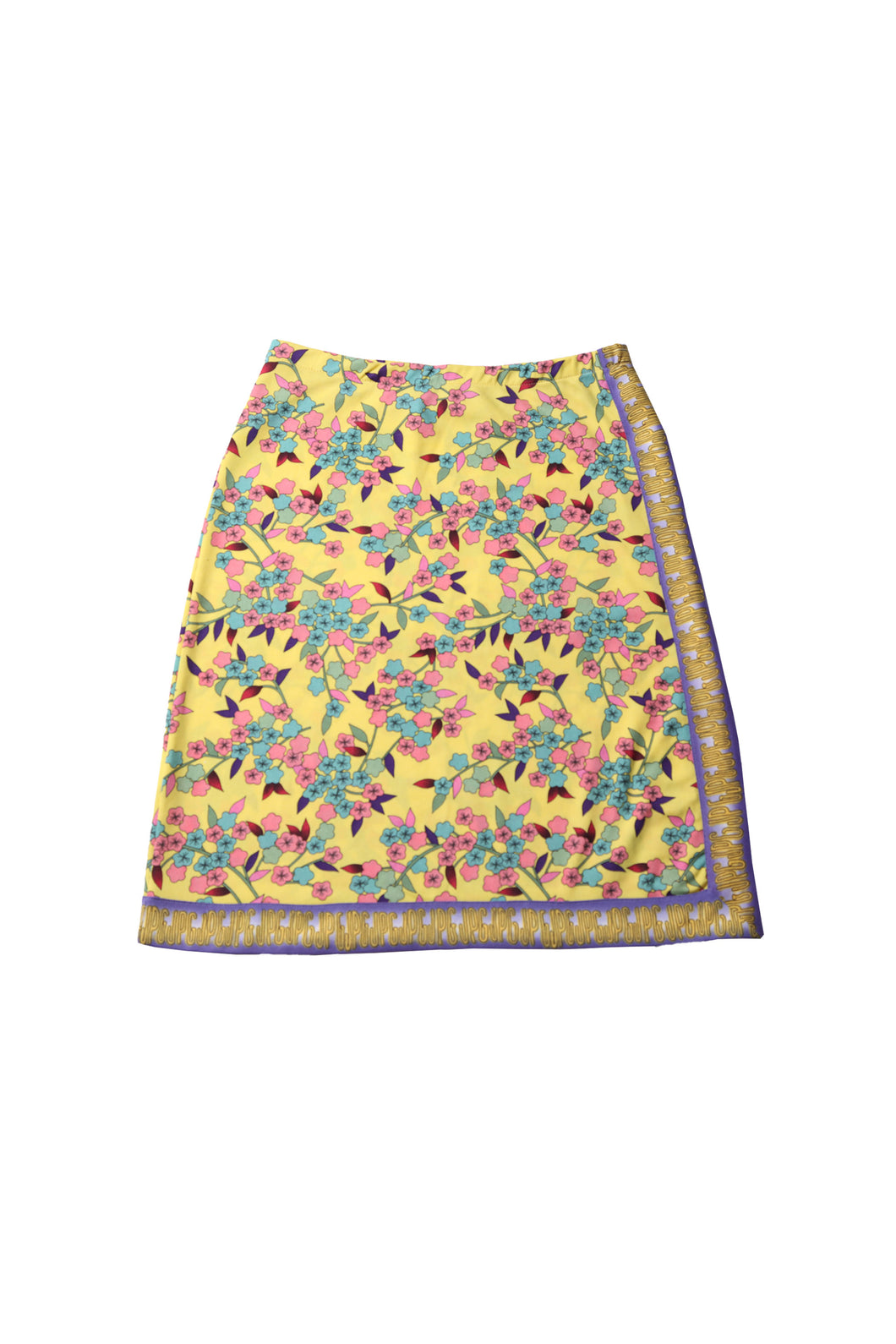 GAULTIER flower print skirt