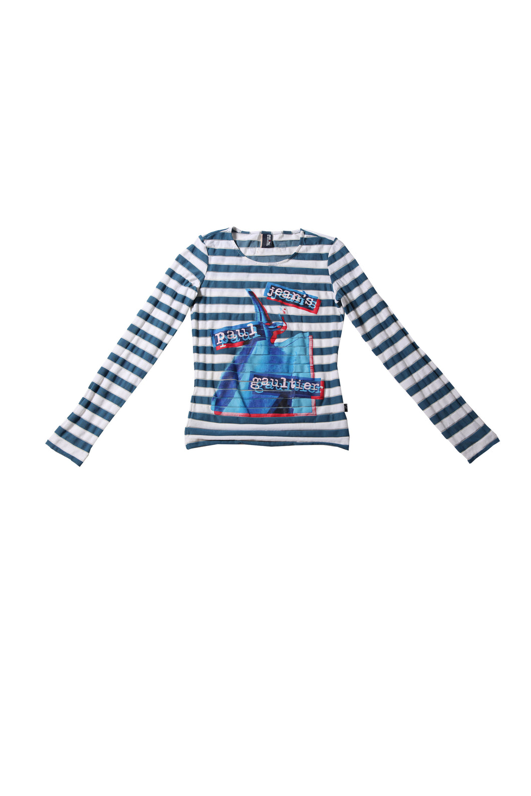 GAULTIER long sleeve striped tee