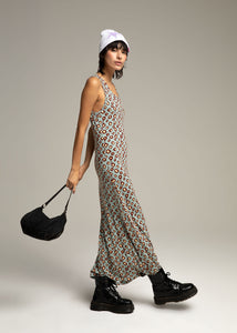 GAULTIER long polka dot dress