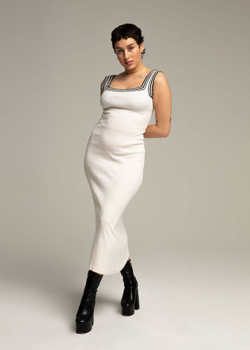 GAULTIER long white dress