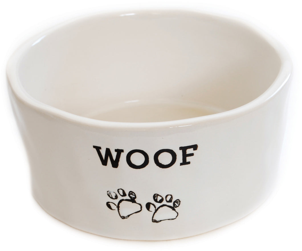 Ceramic WOOF Bowl