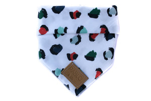 The Modern Christmas Leopard Bandana