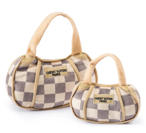 Checker Chewy Vuiton Bag - Lg.