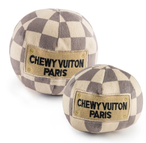 Chewy Vuiton Checker Ball