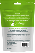 Load image into Gallery viewer, Freeze Dried Dog Treats - Chicken with Broccoli and Ginger 100g