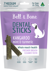 Dental Sticks - Kangaroo and Turmeric - Medium