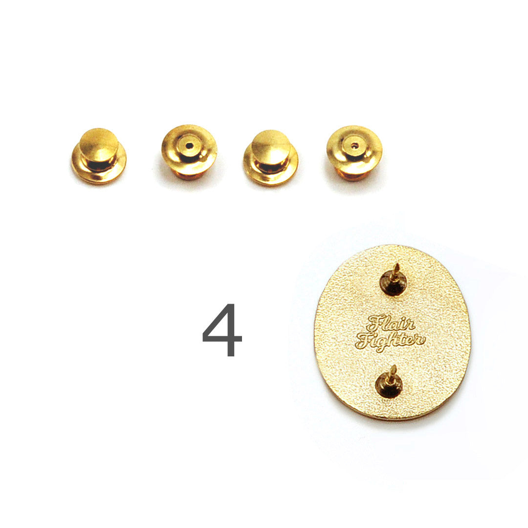 Deluxe Locking Pin Backs