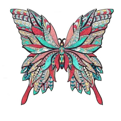 Cute Butterfly Jigsaw Puzzle