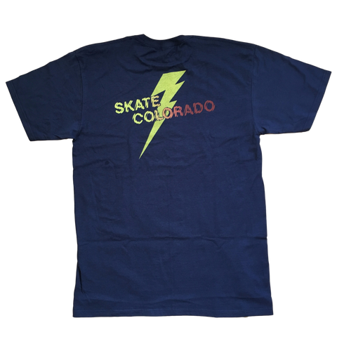 [NEW] T-Shirt Men's Skate Colorado Shatter Fade