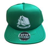 [NEW] Mesh Snapback Trucker Skate Colorado for the Devil Tent Green