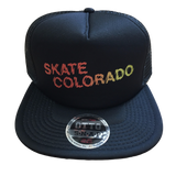 [Price Reduced] Mesh Snapback Trucker Skate Colorado Shatter Fade